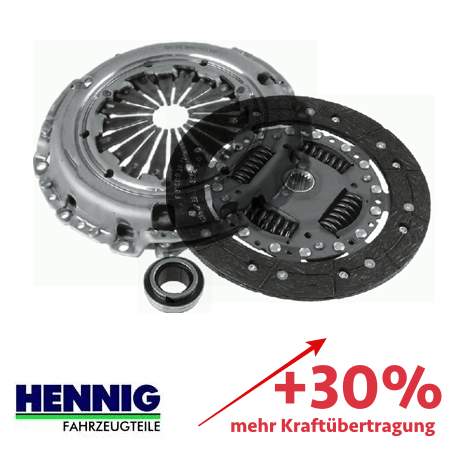 Verstärkte Kupplung (KIT) ZF Sachs 3000950648