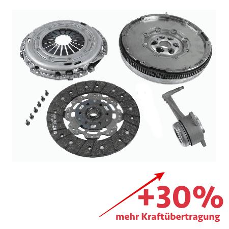 Verstärkte Kupplung (KIT+ZMS) - ca. 30% mehr Kraftübertragung - 2290601015-3000V